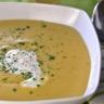 Soupe de nos montagnes : lentilles du Puy comté et saucisse de Morteau