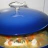 Soupe de pistou au poisson et ses légumes maison