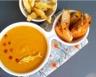 Soupe de poissons et légumes