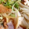 Soupe de porc et de nouilles comme à Pékin
