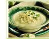 Soupe froide de chou-fleur aux pommes