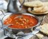 Soupe marocaine aux pois chiches et tomates