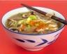 Soupe orientale au boeuf et légumes pauvre en sel