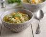 Soupe paysanne de lardons aux légumes