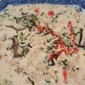 Soupe Thaï aux crevettes ou au poulet au lait de coco