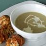 Soupe veloutée et raffinée aux topinambours