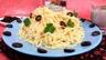 Spaghetti à la crème d'olives