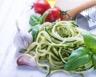 Spaghetti de courgettes