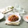 Spaghetti sans gluten à la sauce basilico thon et courgettes