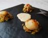 St Jacques poêlées sur fondue de poireaux et sauce à l'orange