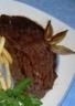 Steaks aux échalotes et au vin rouge - frites