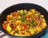 Stew au boeuf haché aux pommes de terre