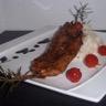 Sucré / Salé de poulet au romarin & son risotto cremeux