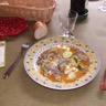 Tagine aux figues aux abricots et raisins secs