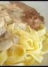Tagliatelles au veau et sa sauce de gorgonzola-mascarpone
