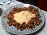 Tajine d'agneau aux abricots secs et aux épices