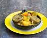 Tajine de jarret de veau aux pommes de terre et artichauts