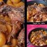 Tajine de lapin au cidre et aux pruneaux