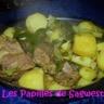 Tajine de pommes de terre aux poivrons
