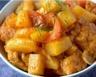 Tajine de porc aux pommes de terre fruits secs