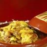 Tajine de poulet au citron confit fenouil et aubergine