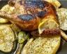 Tajine de poulet aux citrons confits pommes de terre