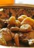 Tajine de poulet aux fruits secs et épices