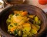 Tajine de poulet aux légumes et au citron