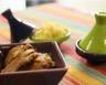 Tajine de poulet aux pruneaux et abricots
