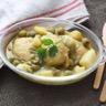 Tajine de poulet citron confit et olives vertes au Cuisine Companion