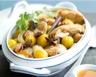 Tajine de poulet mirabelles noix de pécan et miel d'Oranger