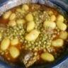 Tajine de veau petits pois pommes de terre
