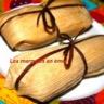 Tamales aux poires et chocolat