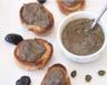 Tapenade d'olives noires câpres et anchois