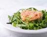 Tartare de saumon fumé et frais à la ciboulette