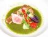 Tartare de thon rouge sauce thé vert