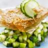 Tartare tout vert de Concombre de France et légumes