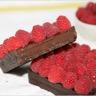 Tarte à la crème chocolat et aux framboises