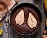 Tarte amandine aux poires et aux pépites de chocolat