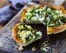 Tarte asperges brocoli courgette et feta