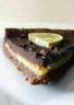 Tarte au chocolat citron vert et gingembre