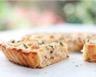 Tarte au chou-fleur jambon et crème poivre