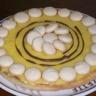 Tarte au citron déco macaron