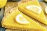 Tarte au citron et crème fraîche