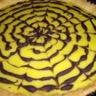 Tarte au citron façon toile d'araignée