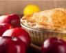 Tarte au fromage blanc et au compote de pommes