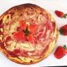 Tarte au fromage blanc & fraises