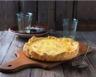 Tarte au fromage de chèvre et crème fraîche