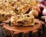 Tarte au fromage frais jambon et oignons