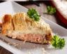 Tarte au saumon fumé et fromage de chèvre
